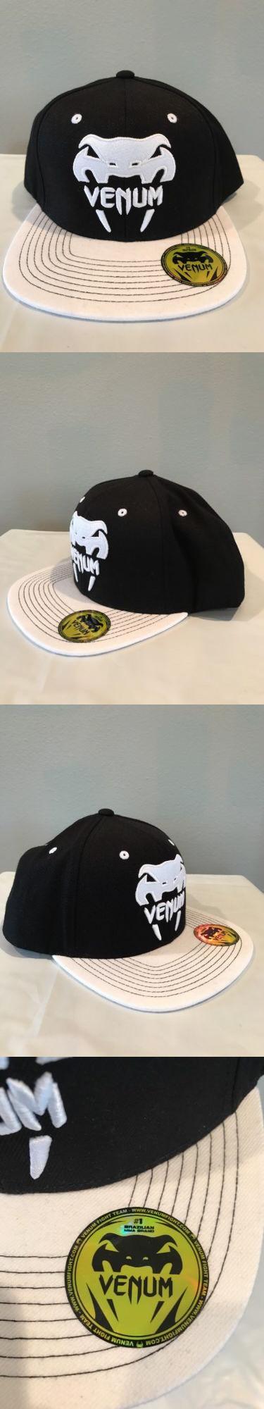 Headbands And Hats 179769 Mens Venum Logo Snapback Hat New Cap Mma Bjj Jiu Jitsu Muay Thai Black White Buy It Now Only 35 Snapback Hats Hats Bjj Jiu Jitsu