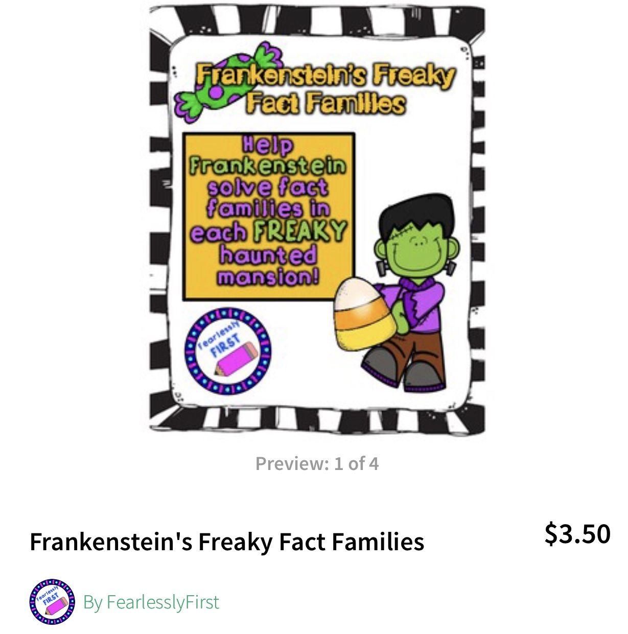 Halloween Fact Family Fun Halloween Primary
