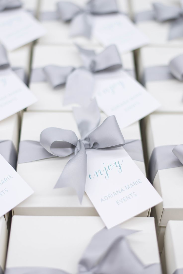 Client Gifts for Adriana Marie Events | Wedding planners, Maryland ...