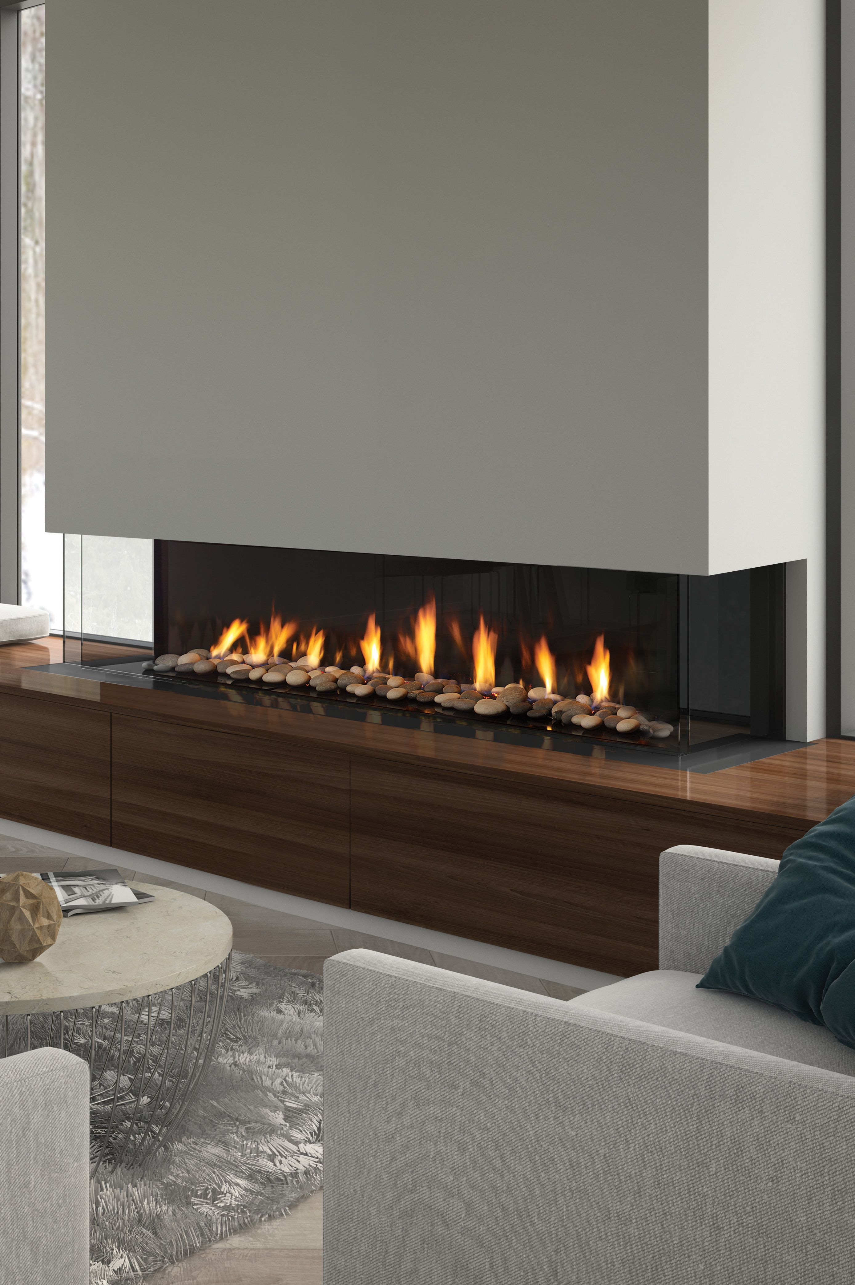 The Regency City Series San Francisco Bay 72 Fireplace Gives You Even More Options With City Series C Fireplace Modern Design Modern Fireplace Glass Fireplace