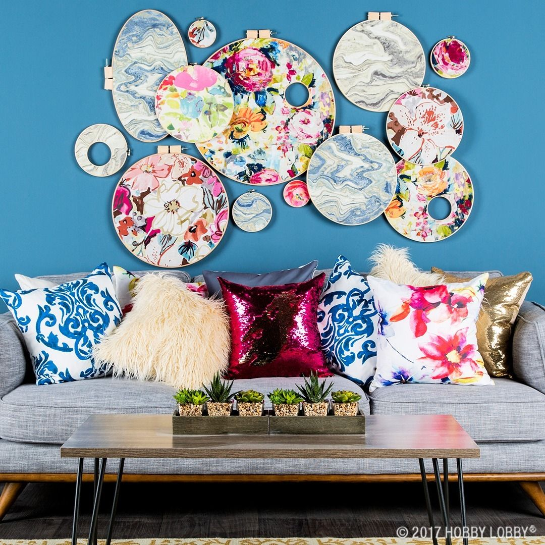 Add Watercolor To Your World With Our Vibrant Collection Of Home Decor Fabric