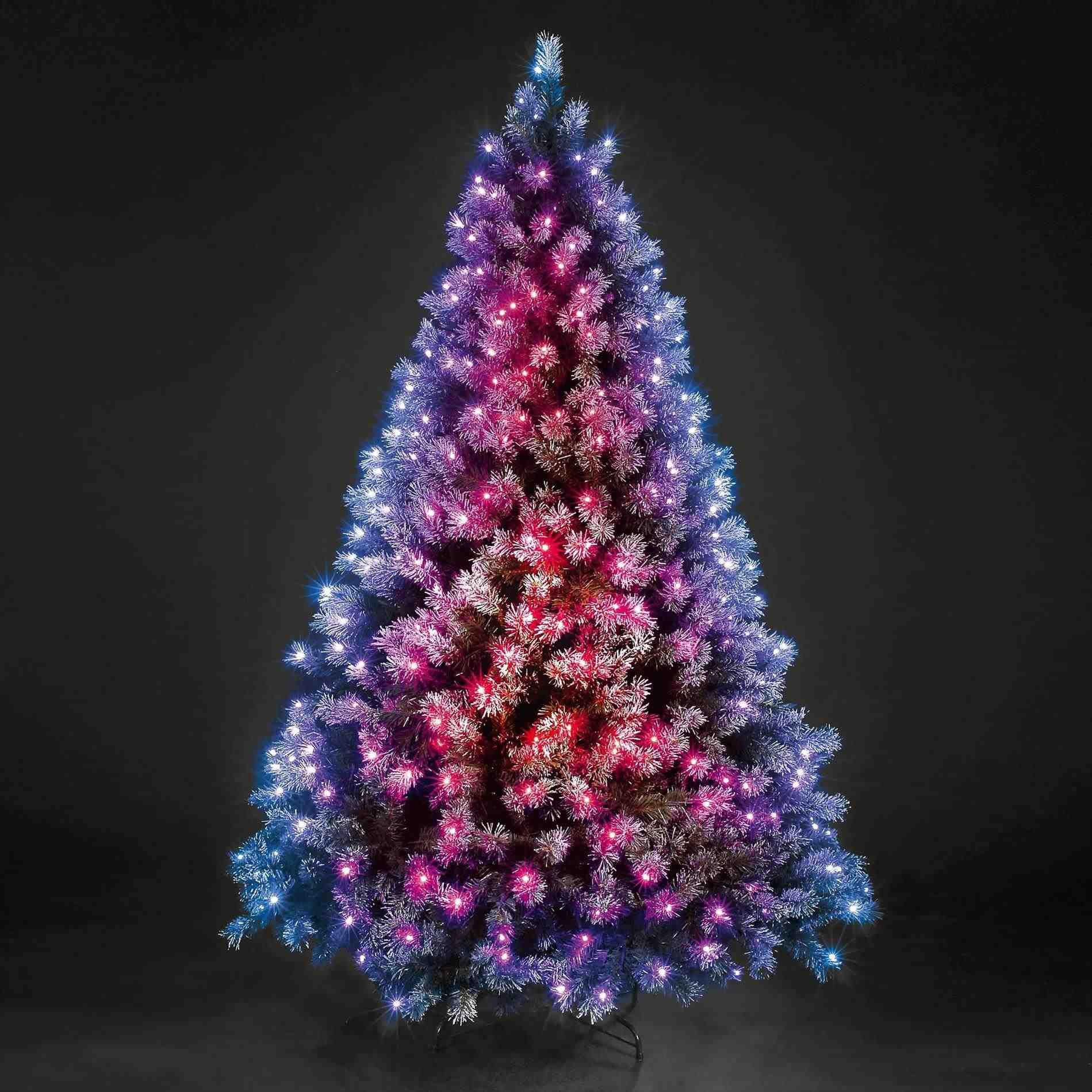 New Post-light pink christmas tree small-Trendingcheminee.website ...