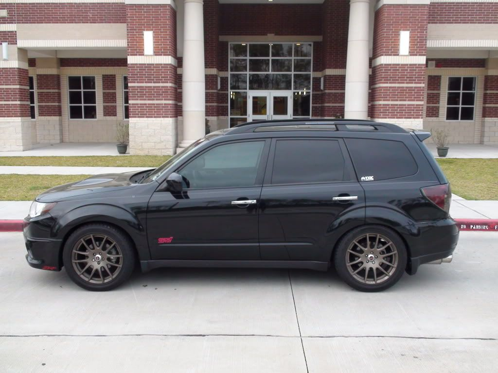 2016 forester lowered