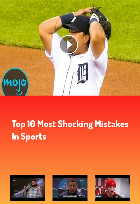 Top 10 Most Shocking Mistakes in Sports #sports #sport #football #fitness sports funny cringeworthy...