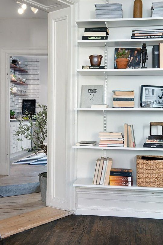 High, Medium, U0026 Low: The Best Sources For Wall Mounted Shelving. Living Room  ...