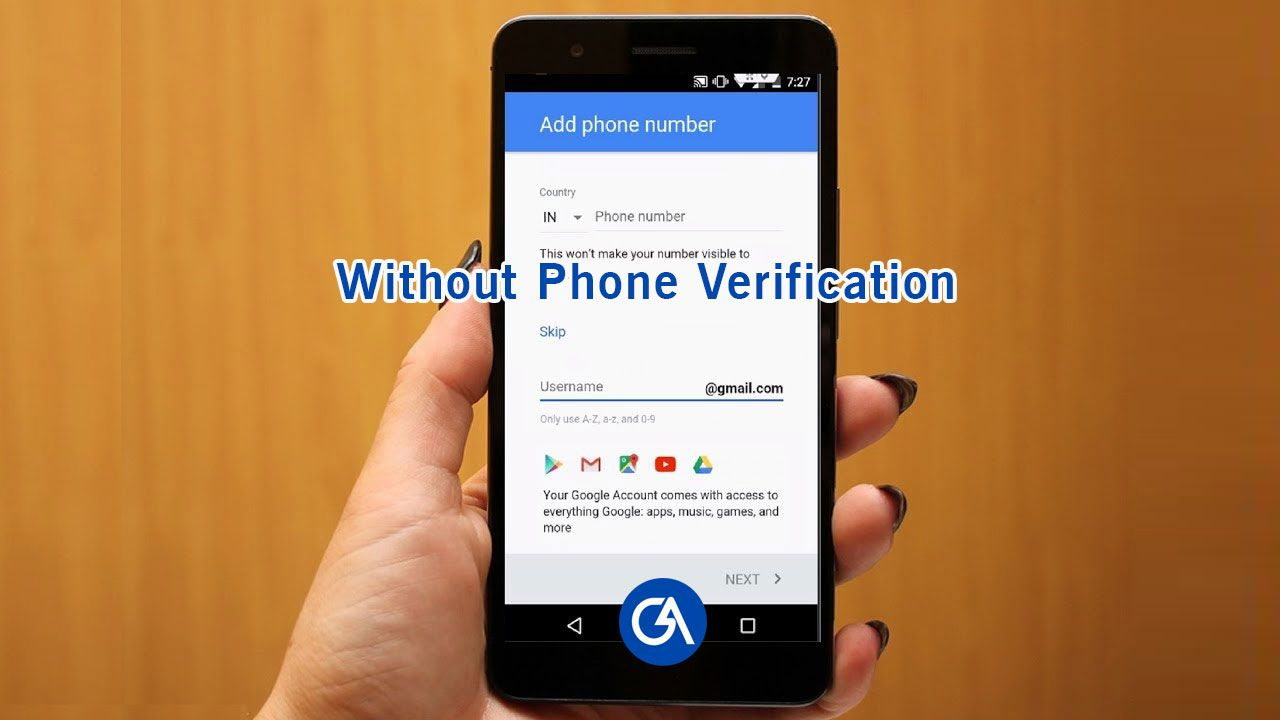 Here is the top 3 methods to bypass Gmail phone umber
