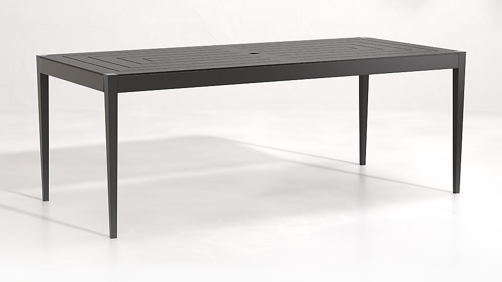 Suri Dining Table Reviews Crate And Barrel In 2020 Outdoor Furnishings Patio Dining Table Unique Furniture