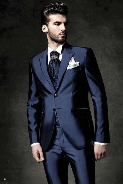 wine Red suit suit the groom wedding fashion men's wedding suit ...
