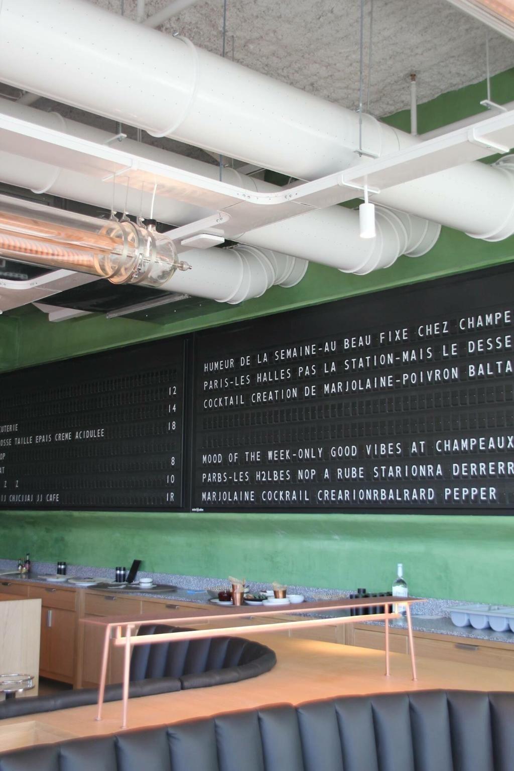 Restaurant Champeaux, Paris Les Halles Restaurant Avis