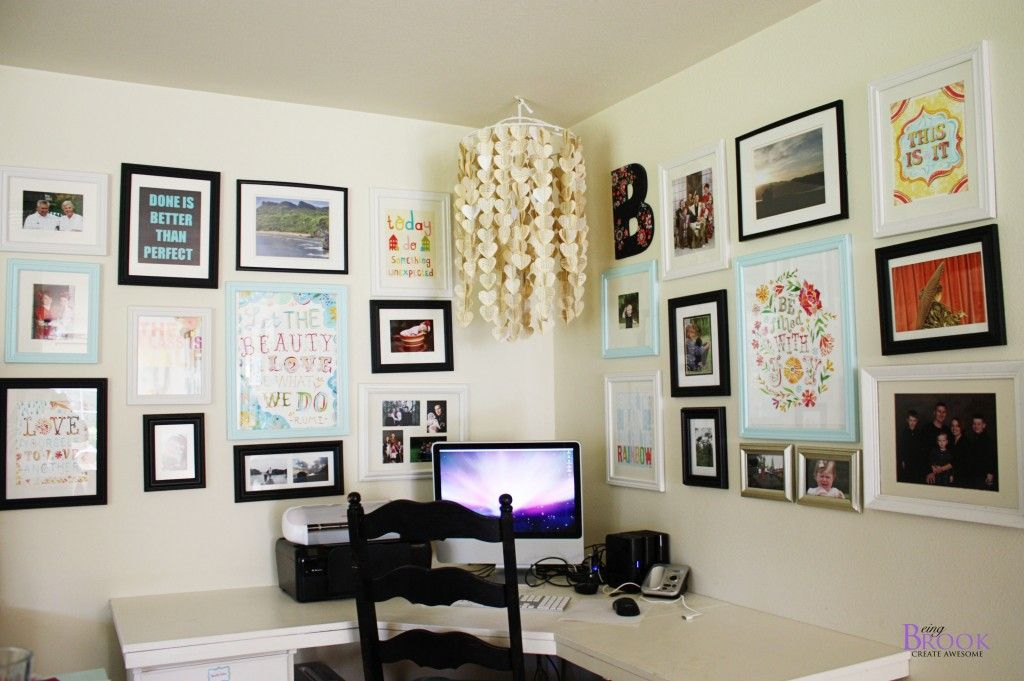 love this corner office space with a bright happy gallery on smart corner home office ideas id=67619