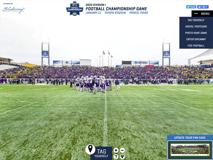 Collegiate Sports Championship Games Panoramic Photos
