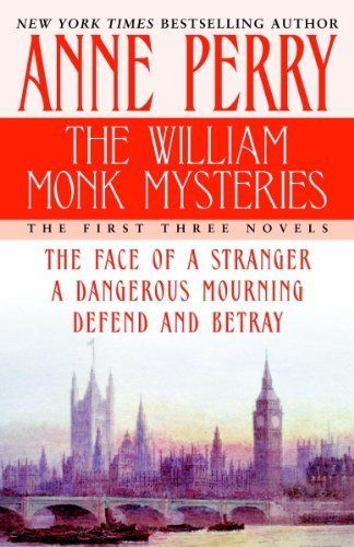 The William Monk Mysteries: The First Three Novels by Anne Perry.  His name, they tell him, is William Monk, and he is a London police detective. But the accident that felled him has left him with only half a life; his memory and his entire past have vanished. As he tries to hide the truth, Monk returns to work and is assigned to investigate the brutal murder of a Crimean War hero and man about town.