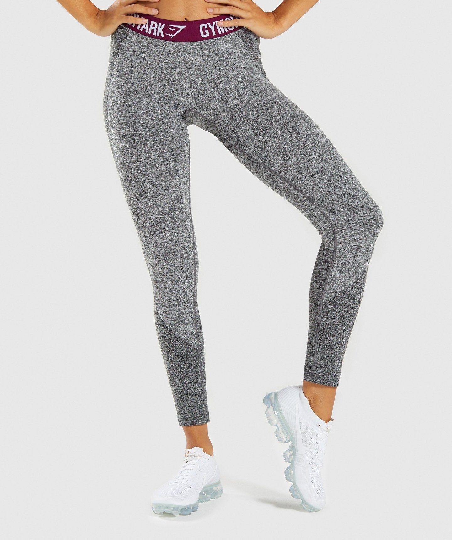 a0a6d2c6083bd Gymshark Flex Leggings - Charcoal/Deep Plum 4 | fallllll | Gymshark ...