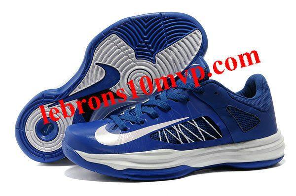 brand new e7911 48589 Nike Lunar Hyperdunk X Low 2012 White Blue