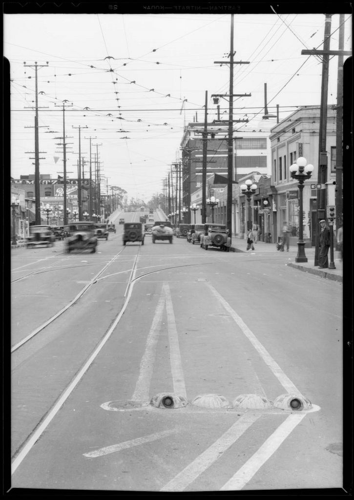 7th and mateo streets los angeles 1933 los angeles