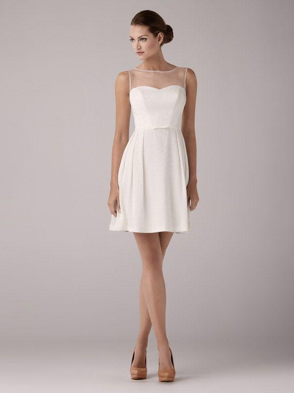 Kurze Brautkleider mit und natürlich ohne Schleppe der beliebtesten ...