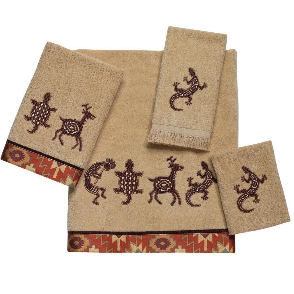 Avanti Segovia Embellished 4-piece Towel Set
