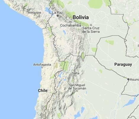 Atacama Desert Facts & Information, Map, Chile - Travel Guide ...