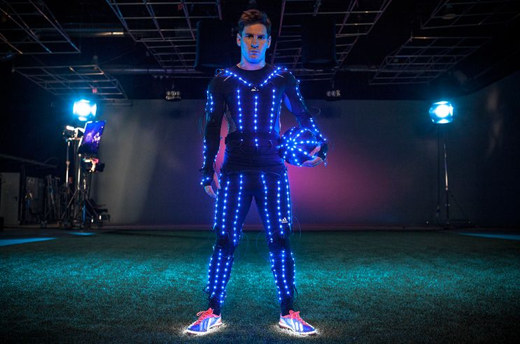 Led Sculpture And Other Led Projects Messi Lionel Messi Adidas Star