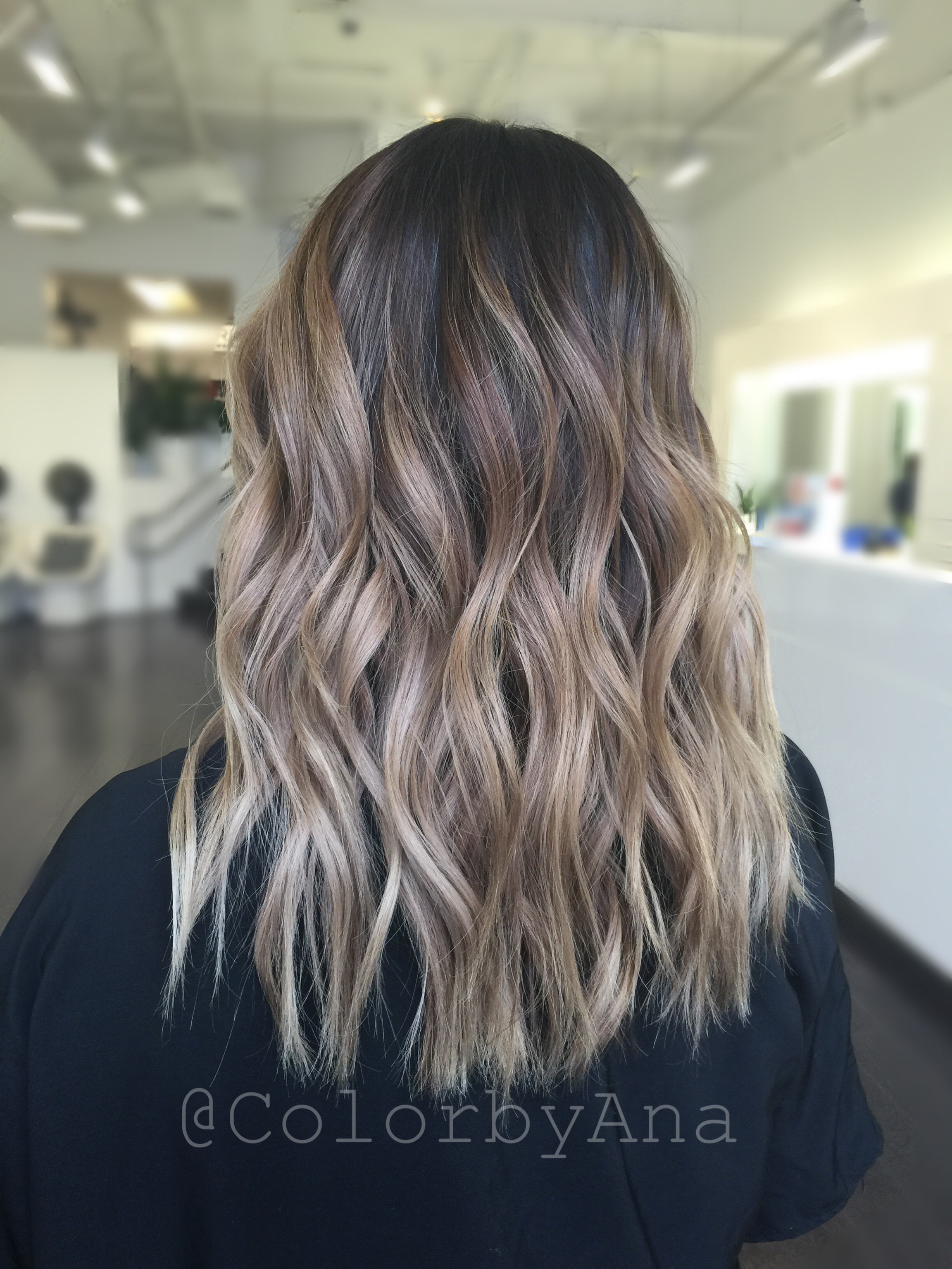 Color By Colorbyana Blonde Balayage Cristophe Salon Fashion Island Newport Beach Orange County California Bea Hair Styles Balayage Hair Wedding Hair Colors