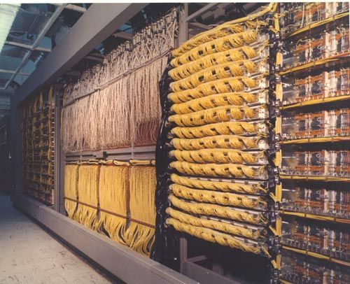 SAGE Manual Inputs Patch Panel | 102622762 | Computer History Museum