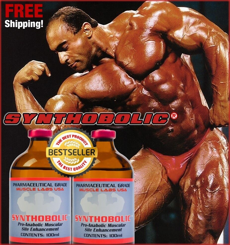 SYNTHOBOLIC 2 pack Muscle Enhancement Oil 200 ml  by MuscleLabs