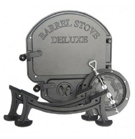Cheapest 55 Gallon Drum Barrel Stove Kits From Vogelzang - DOOR KIT BARREL STOVE [Misc.] By Vogelzang. $73.54. Transform A