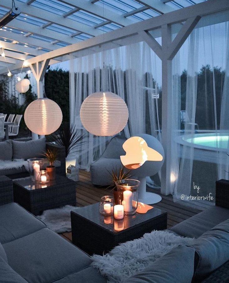 Garten Ideen # Garten # Ideen #terracedesign - Balkon ideen #gardenoutdoors