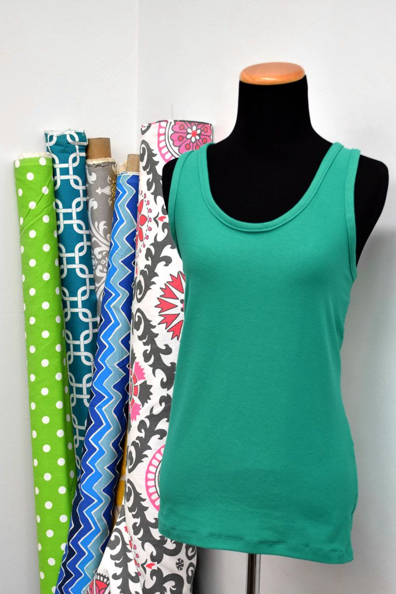 How To Make a Racer Back Tank Top | Recipe | Sewing projects, Sewing ...