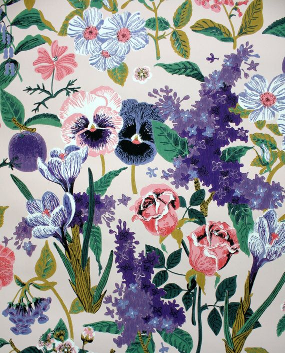 Pin By Kate Zaremba On Pattern Vintage Wallpaper