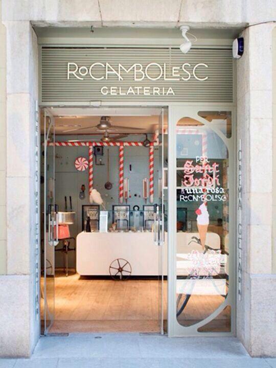 Heladería Rocambolesc. Barcelona