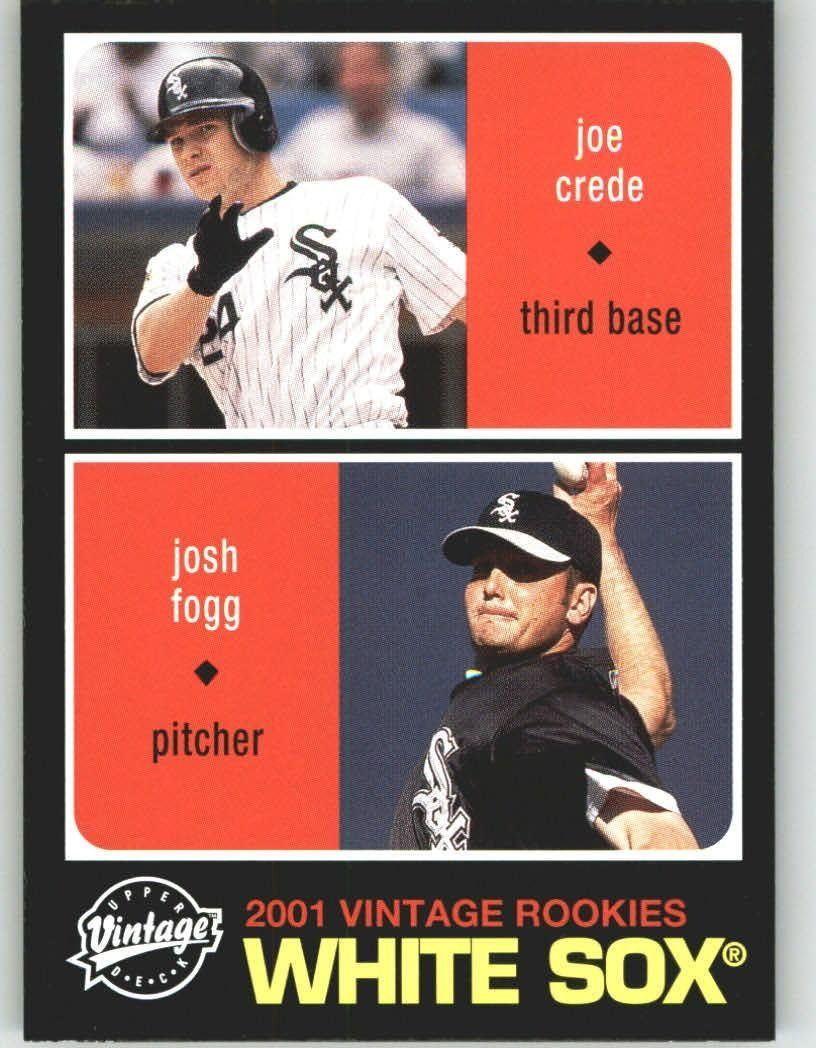 2002 Upper Deck Vintage 114 Joe Crede / Josh Fogg
