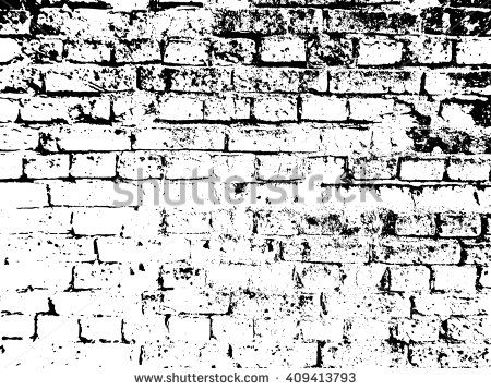 Brick Texture Background Effect Overlay Vector