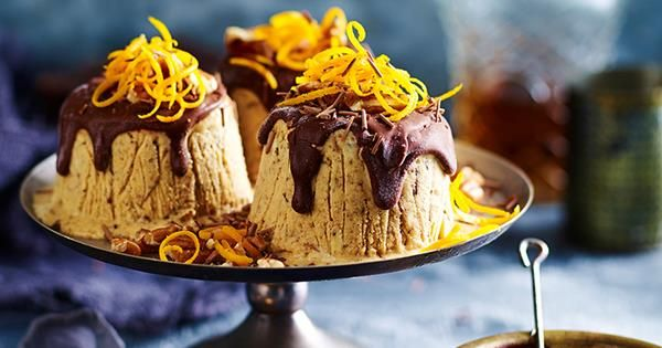 this year give your traditional christmas dessert recipes a splashing of chocolate from frozen - Traditional Christmas Dessert Recipes