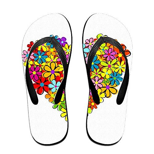 Beautifyl Flower Love Flip Flops Beach Slippers -- Read more  at the image link.