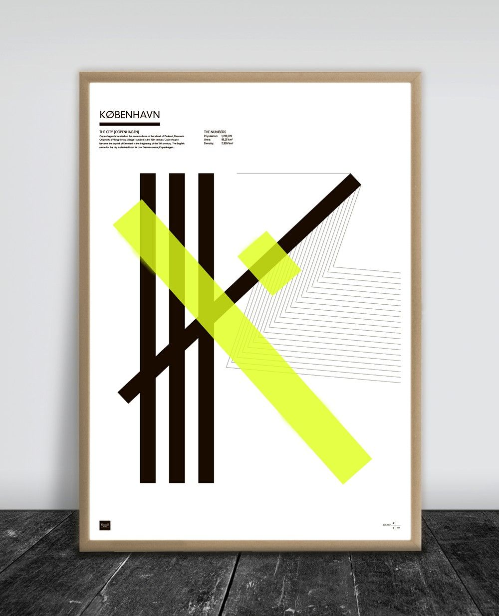 Design poster 70x100 - K Benhavn 70 X 100 Cm Via Buus Works Click On The Image To See More Design Posterscopenhagen2d