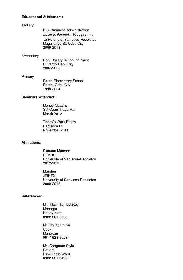 Sample Targeted Resume Sample resume, Resume, Business