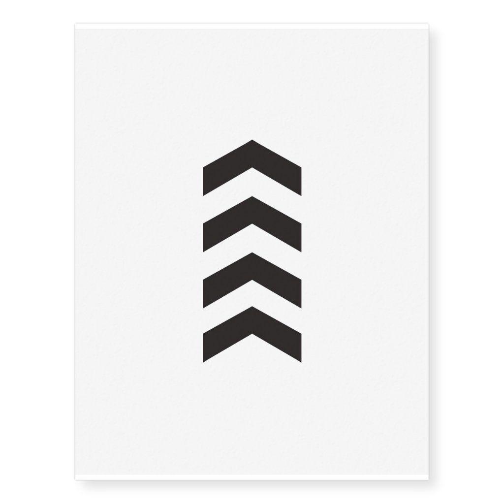 Liam Payne temporary arrow tattoo | Zazzle.com