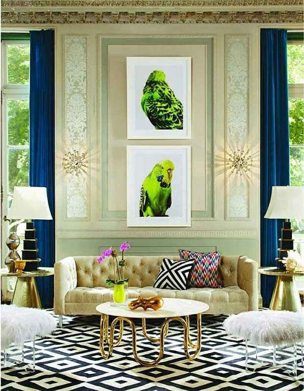 Contemporary Interiors From Elle Decor India | Indiau0027s Best Design Magazines  Via Paint + Pattern