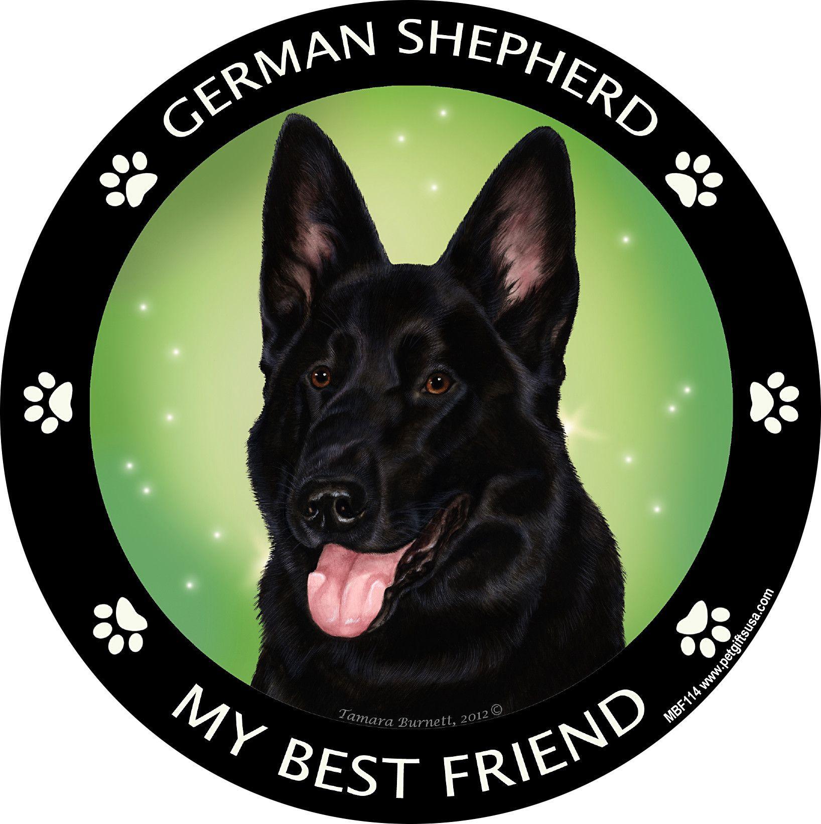 German shepherd black my best friend dog breed