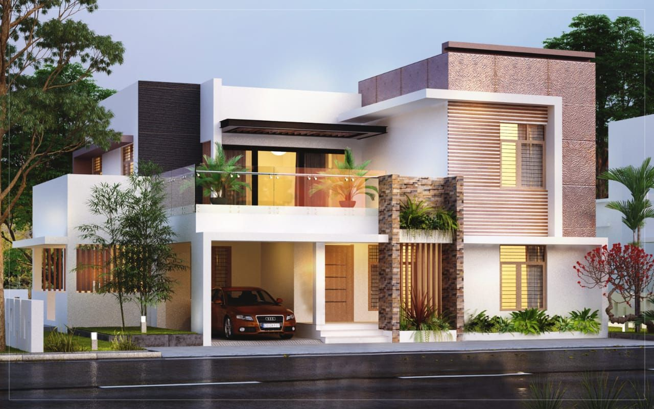 Kerala Home Design Architecture Kerala House Design Contemporary Architecture House Bungalow House Design
