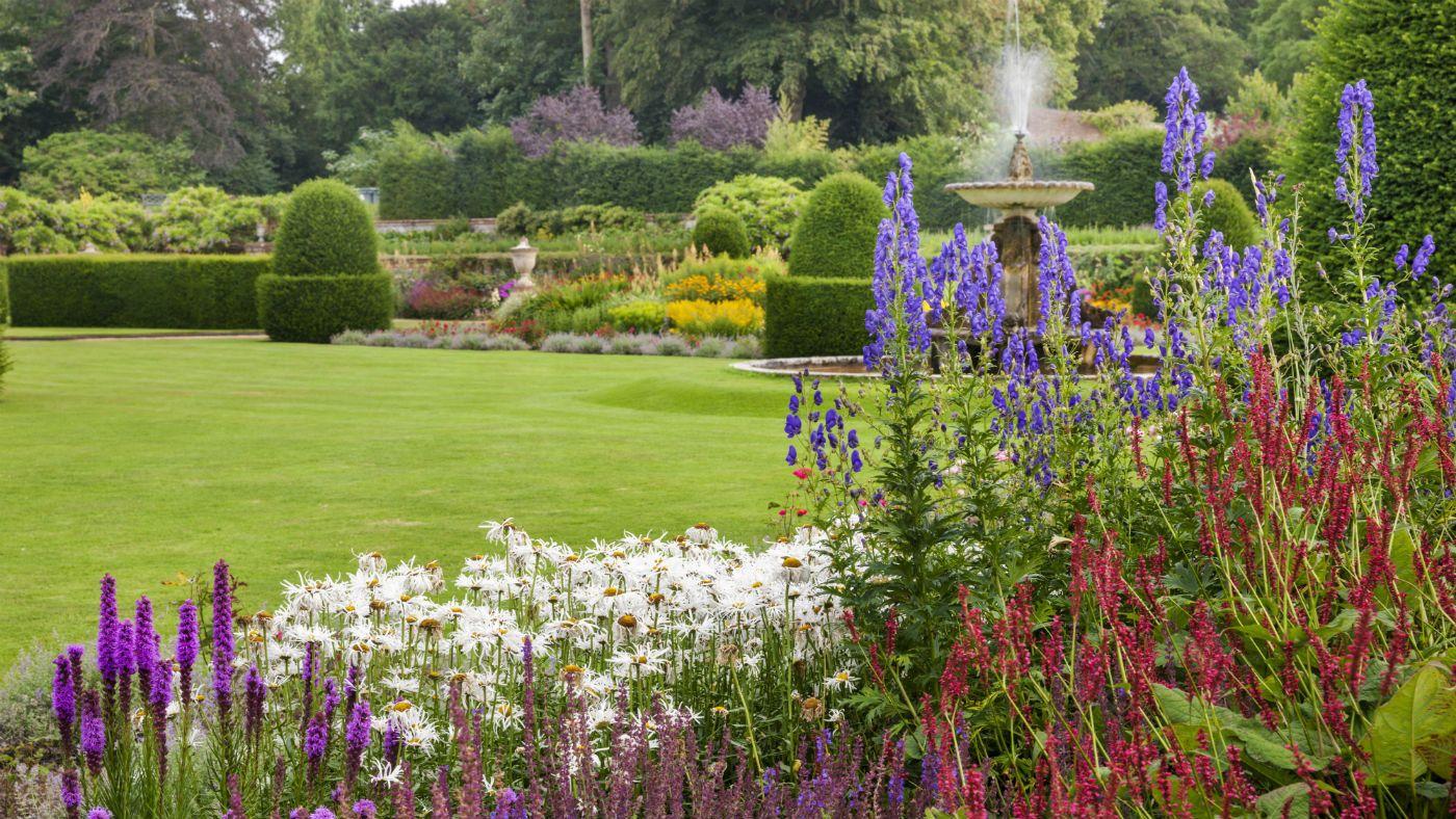 The parterre garden at blickling estate norfolk national trust
