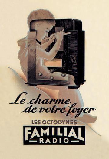 Le Charme de Votre Foyer 20x30 poster