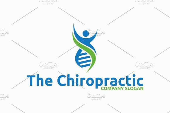 The Chiropractic Templates Logo Template FeaturesAI and EPS ...
