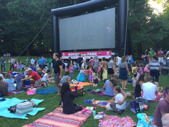 Movies In The Park Portland, Oregon #Kids #Events