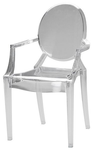 Aurora Transparent Chair Dining Room Chairs With Wood Table Urban Barn