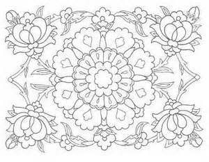 Hungarian Folk Art Coloring Pages