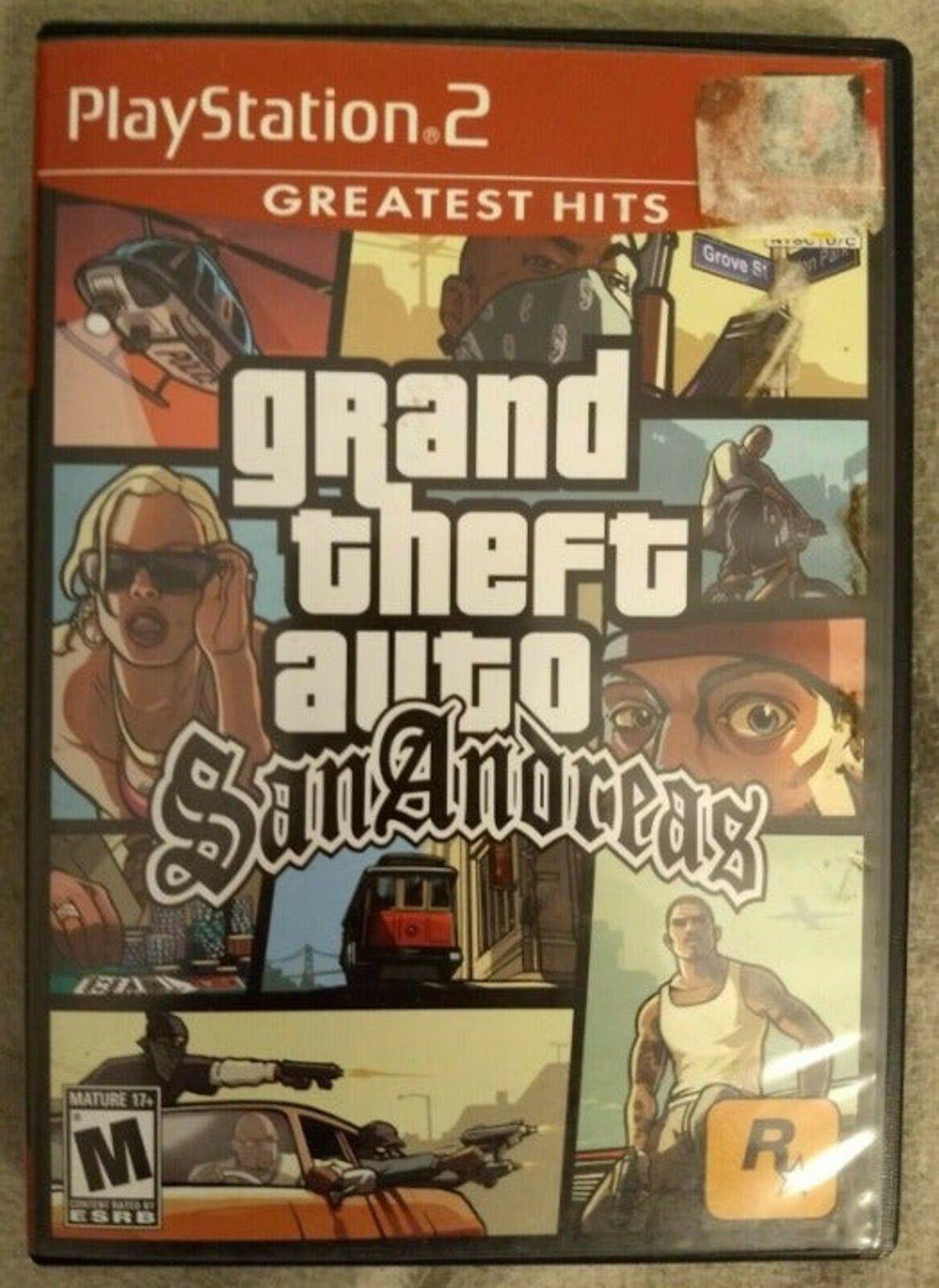 Grand Theft Auto San Andreas Ps2 San Andreas Grand Theft Auto Grand Theft Auto Games