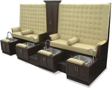 Spa | Design X Mfg | Salon Equipment, Salon Furniture, Pedicure Spa