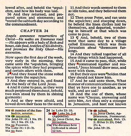 Article Called Taking Note Marking The Footnotes In The New Lds